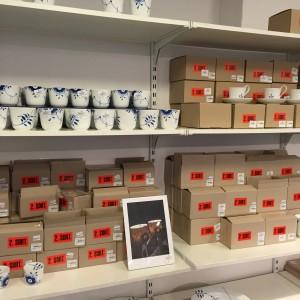 2. sorteringsporcelæn fra Royal Copenhagen i deres outlet