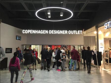 Indegangen til Copenhagen Designer Outlet