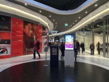 Gangene i Copenhagen Designer Outlet