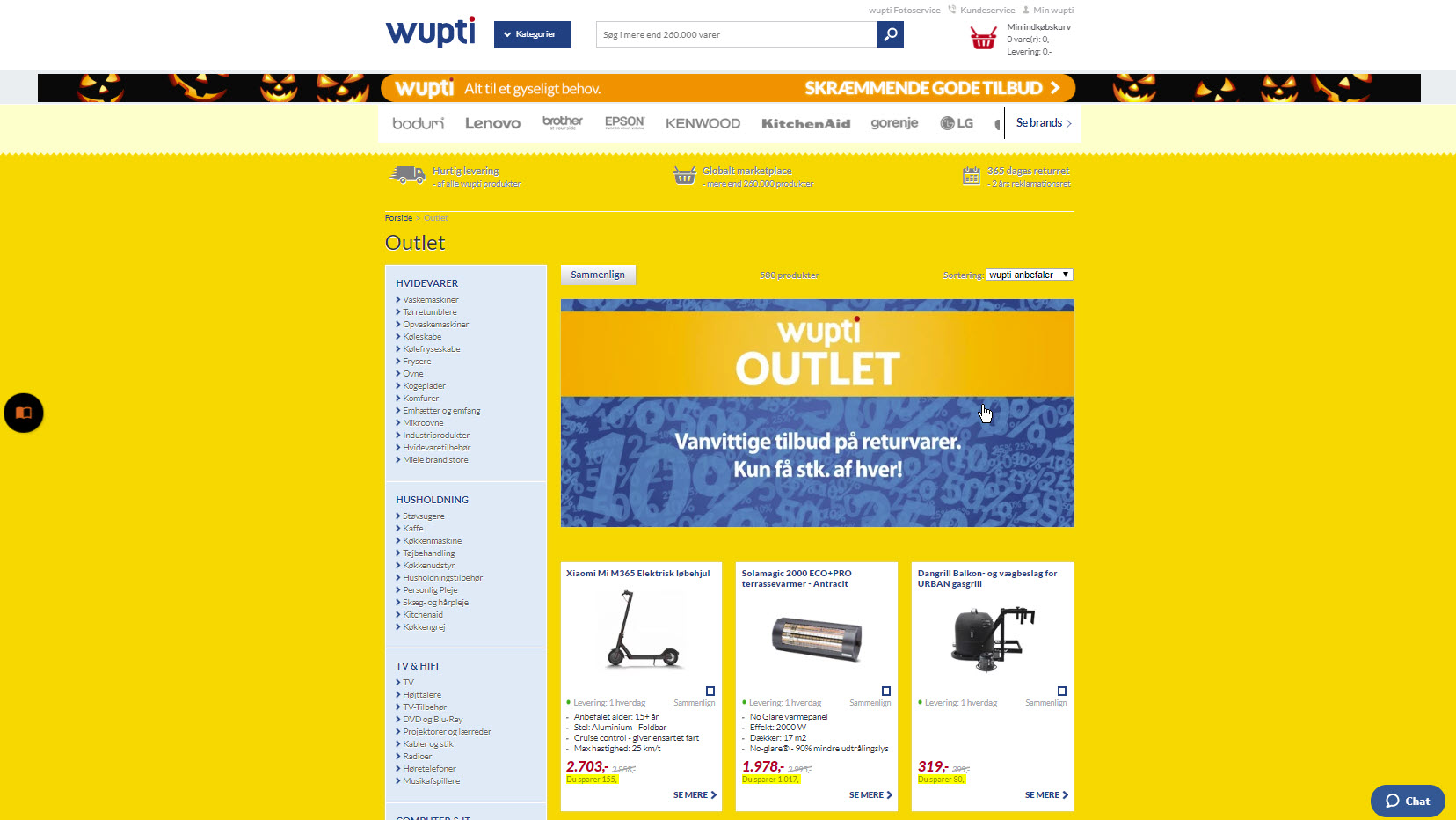Wupti.com outlet