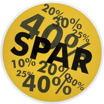 Spar 10% 20% 25% 30% 40% på udsalg